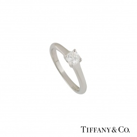 Tiffany & Co.LucidaDiamond Ring0.35ct I/VVS1